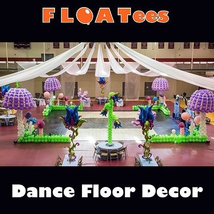 Dance Floor Decor FLOATEE Entry Fee