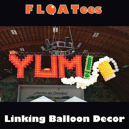 Linking Balloon Decor FLOATEE Entry Fee