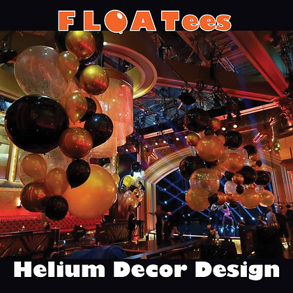 Helium Arrangement (Bouquet) FLOATEE Entry Fee