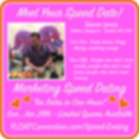 FLOAT 2020 speed dating profile STEVE.jp