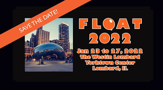 FLOAT 2022 FB group save the date banner