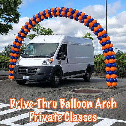 Private Class - Drive Thru Arch