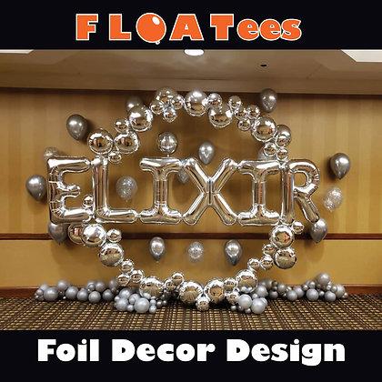 Foil Decor FLOATEE Entry Fee