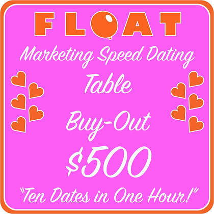 Speed Dating - Table Purchase