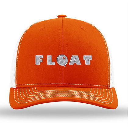 FLOAT Orange Trucker Ball Cap