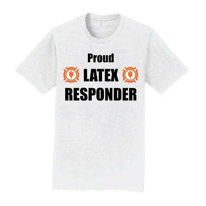 """Latex Responder"" FLOAT T-Shirt"
