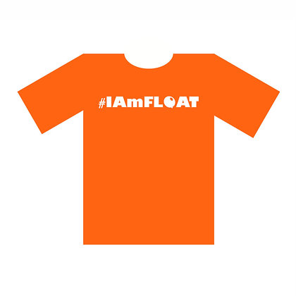 #IAmFLOAT Orange Tee