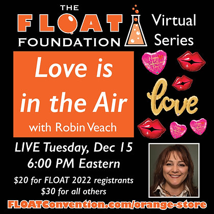 """""""Love is in the Air"""" with Robin Veach"""