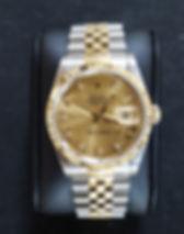 Rolex Bicolour Datejust Custom Diamond D