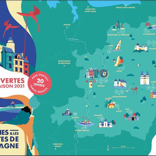 Bon plan avec le Pass Découvertes des Portes de Bretagne