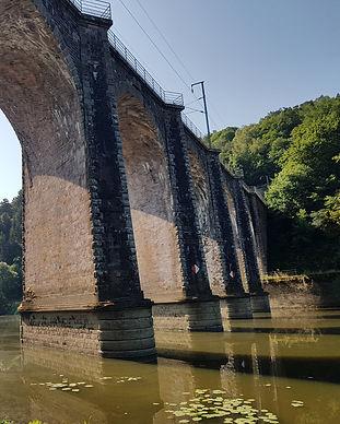 Viaduc de Corbinières © Maison du Touris