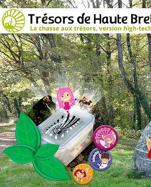 Géocaching © Trésors de Haute Bretagne