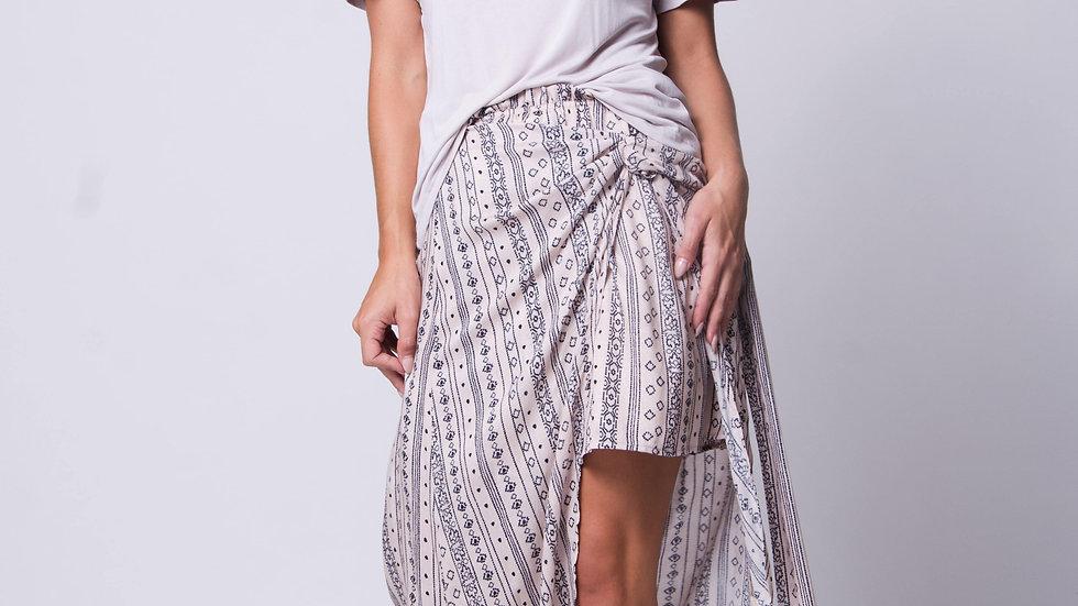 Falda Cruzada - Nema Wrap Raga Skirt