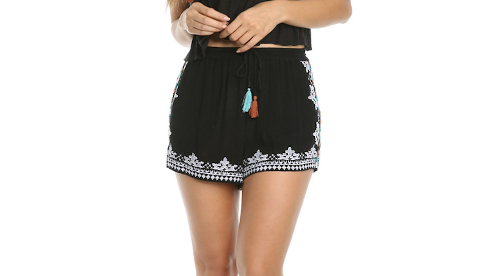 Shorts de Playa - Raga Black Dust Shorts