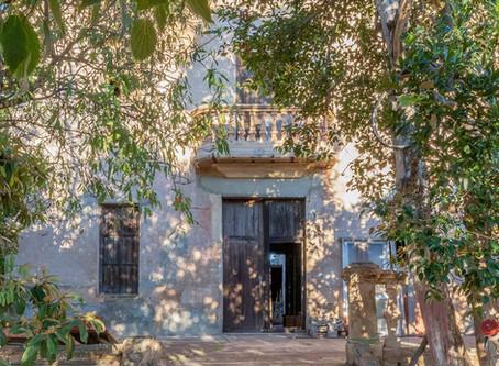 Alquería centenaria en Castellón: así evoluciona su rehabilitación.