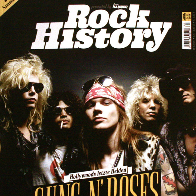 Rock History | Guns N' Roses