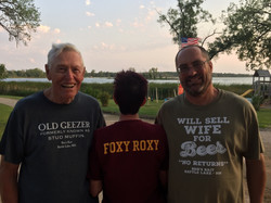 Resort Guests with Fun Shirts