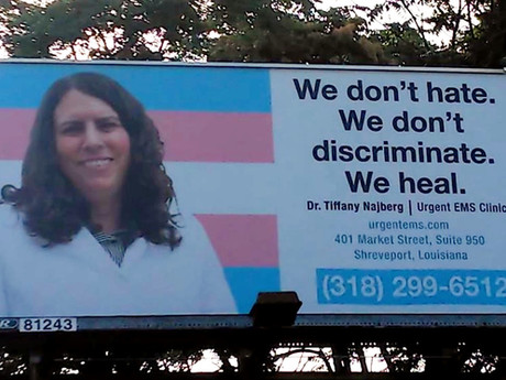 Downtown Shreveport Welcomes UrgentEMS; Transgender Billboard Campaign Launches in Arkansas