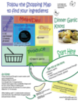 garlic knots kids shopping map