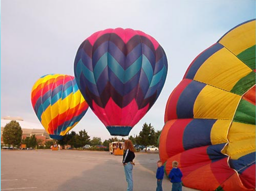 Hot air balloon, hot air ballooning in central PA, centre county PA, things to try in PA, family activities, The Sky's the Limit, relaxing outdoor activities, easy activities for groups, fun for all ages, air travel, heights