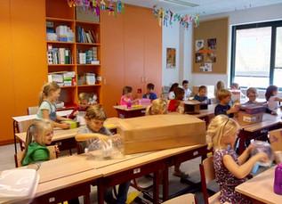 1ste leerjaar: een schitterende start in het 1ste leerjaar