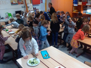 1ste leerjaar: Gezonde voeding (03/02/2020)