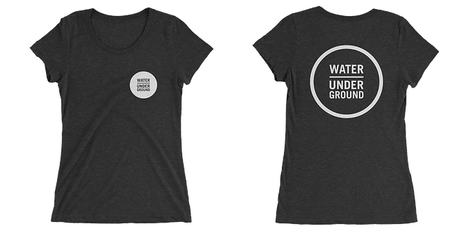 Ladies Classic Water Underground Triblend Tee