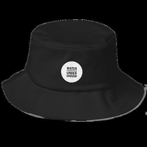 Water Underground Embroidered Bucket Hat