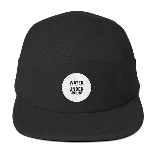Water Underground Cotton 5 Panel