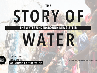 THE STORY OF WATER - Newsletter issue 01