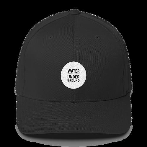 Water Underground Structured Twill Cap