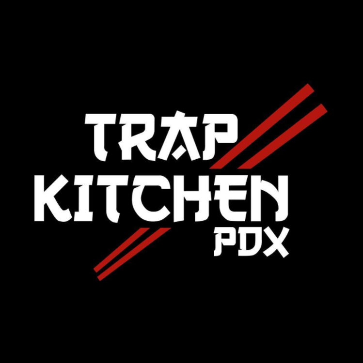 Trap Kitchen Black Logo