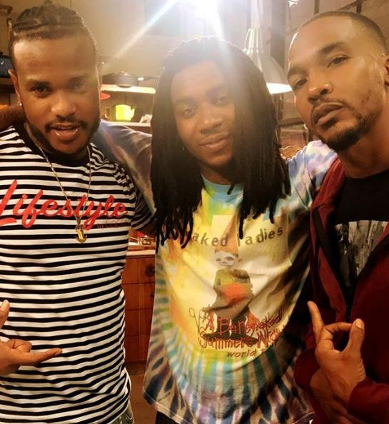 Spank Lil B and Newz