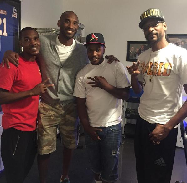 Kobe and Snoop Dogg