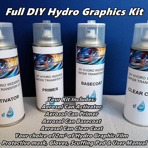 Hydro Wizards Hydrographics DIY Kit