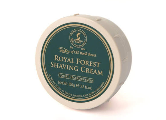 Taylor of Old Bond Street Shave Cream Royal Forest