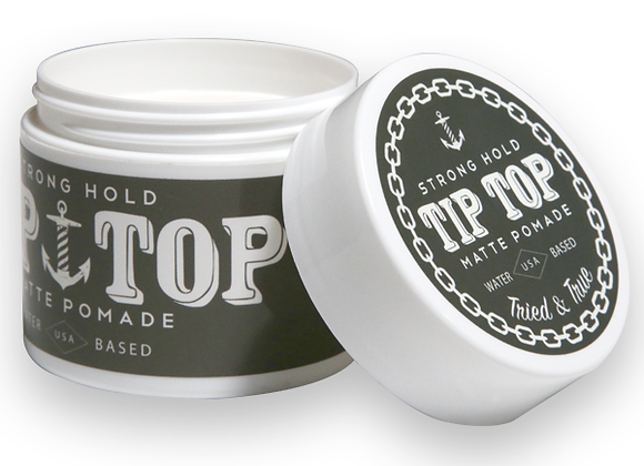 Tip Top Pomade Strong Hold (Matte)