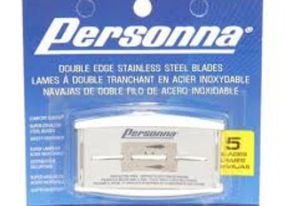 Personna Double Edge Blades 5 Pack