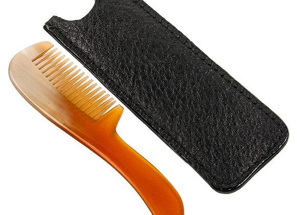 Parker Ox Horn Mustache Comb