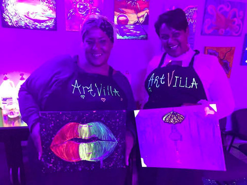 Girls Night Out with Paint & Glow