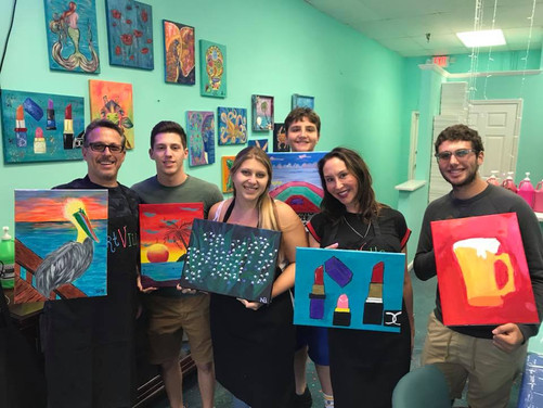 Sip & Paint Family Party