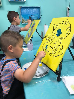 Kids Paint Class