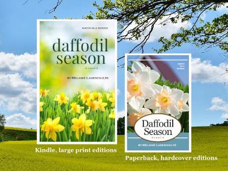 'daffodil season' is here!