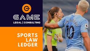 Sports Law Ledger - Monday 19 October 2020