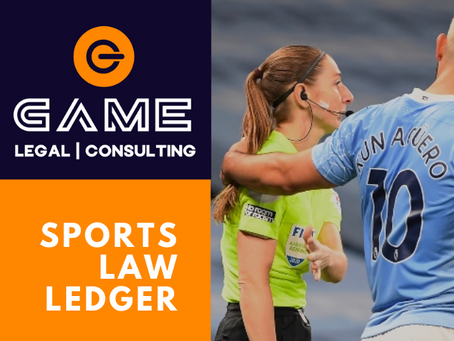 Sports Law Ledger - Monday 19 October 2020