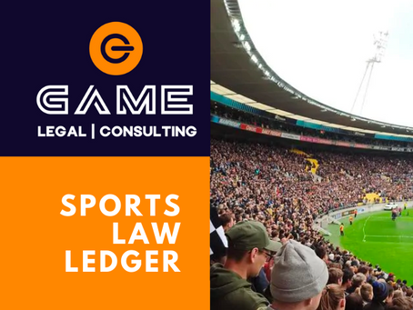 Sports Law Ledger - Monday 12 October 2020