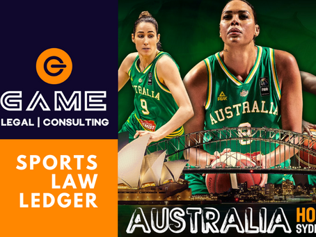 Sports Law Ledger - Monday 30 March 2020