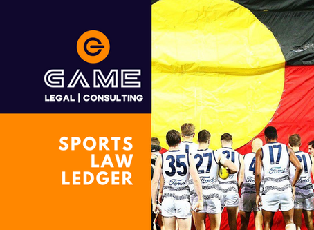 Sports Law Ledger - Monday 24 August 2020