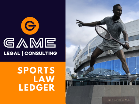 Sports Law Ledger - Monday 9 March 2020