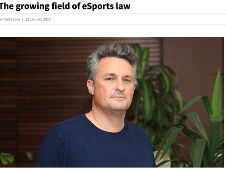 Podcast:  The Growing Field of Esports & The Law